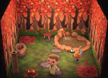 Interior of Limberg's house in Animal Crossing: New Horizons