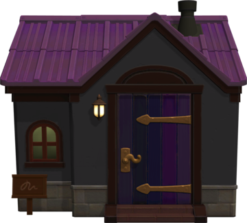Exterior of Mathilda's house in Animal Crossing: New Horizons