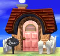Truffles's house exterior
