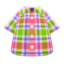 Madras Plaid Shirt (Red) NH Icon.png