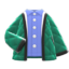 Quilted Jacket (Green) NH Icon.png