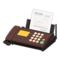 Fax Machine (Brown - Graph) NH Icon.png