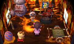 Felyne's house interior