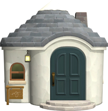 Exterior of Marshal's house in Animal Crossing: New Horizons