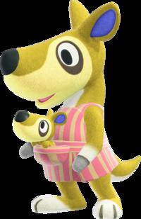 Kitt, an Animal Crossing villager.
