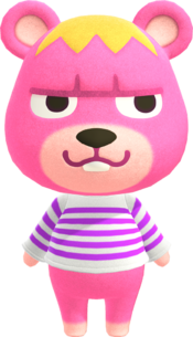 Vladimir, an Animal Crossing villager.