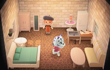 Interior of Bianca's house in Animal Crossing: New Horizons