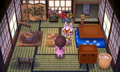 Kabuki's house interior