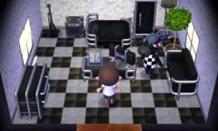 Roscoe's house interior