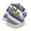 Poncho-Style Sweater (Gray) NH Icon.png