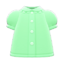 Puffy-Sleeve Blouse (Lime) NH Icon.png