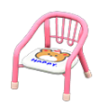 Baby Chair (Pink - Bear) NH Icon.png