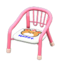 Baby Chair (Pink - Bear)