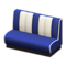 Diner Sofa (Blue) NH Icon.png