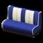 Diner Sofa (Blue)