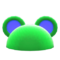 Flashy Round-Ear Animal Hat (Green) NH Icon.png