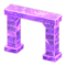 Frozen Arch (Ice Purple) NH Icon.png