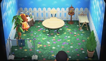 Interior of Patty's house in Animal Crossing: New Horizons