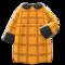 Loose Fall Dress (Orange) NH Icon.png