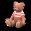 Mama Bear (Caramel Mocha - Red Stripes)