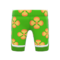Silk Floral-Print Pants (Green) NH Icon.png