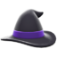Mage's Hat (Black) NH Icon.png