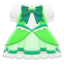 Magical Dress (Green) NH Icon.png