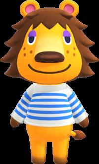 Rex, an Animal Crossing villager.