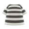 Striped Tee (White) NH Icon.png