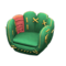 Throwback Mitt Chair (Green) NH Icon.png