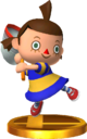 Villager (Alt.) SSB4 Trophy (3DS).png
