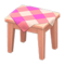 Wooden Mini Table (Pink Wood - Pink) NH Icon.png