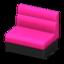 Box Sofa (Magenta)