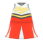 Cheerleading Uniform (Red) NH Icon.png