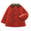 Coverall Coat (Red) NH Icon.png