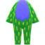 Flashy Animal Costume (Green) NH Icon.png