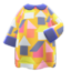 House-Print Dress (Yellow) NH Icon.png