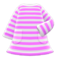Striped Dress (Pink) NH Icon.png