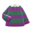 Thick-Stripes Shirt (Green & Purple) NH Icon.png
