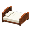 Antique Bed (Brown) NH Icon.png