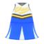 Cheerleading Uniform (Blue) NH Icon.png