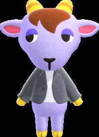 Kidd, an Animal Crossing villager.