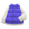 Puffy Vest (Blue) NH Icon.png