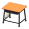 School Desk (Light Brown & Black) NH Icon.png