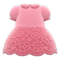 Floral Lace Dress (Pink) NH Icon.png