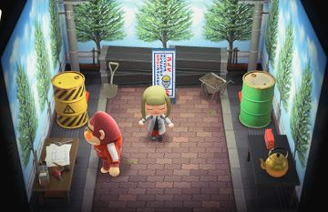 Interior of Boyd's house in Animal Crossing: New Horizons