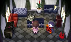 Flo's house interior