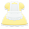 Maid Dress (Yellow) NH Icon.png