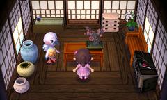 Blanche's house interior