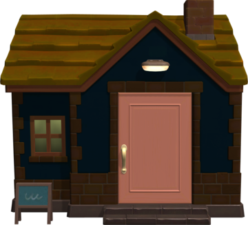 Exterior of Eunice's house in Animal Crossing: New Horizons